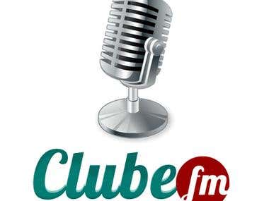 Logotipo Clube FM - O seu clube da música
