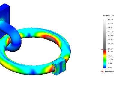 Rings - CAE Analysis
