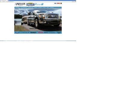 Auto Dealer Website