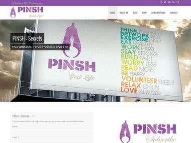 Pish - Web-site