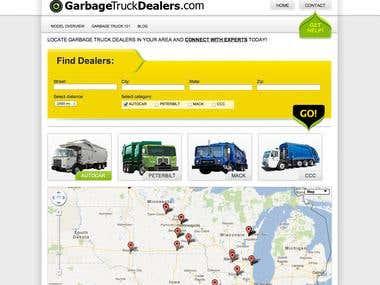 Truck Dealers theme