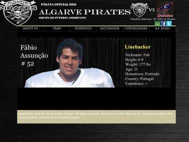 Algarve Pirates Roster