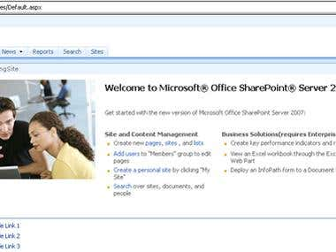 Application For sharepoint