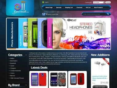 Online Mobile store.
