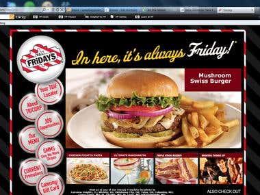 Restaurant Franchise Website