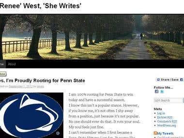A. Renee' West, 'She Writes'