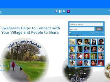 Social Portal Swagraam.com