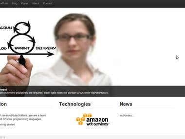 Web site on Heroku