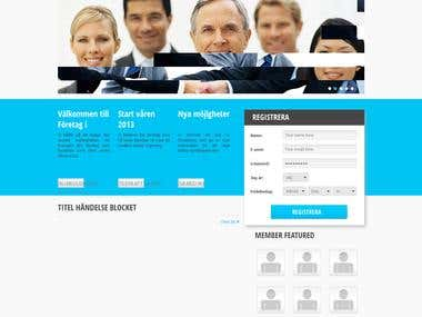 Business Social portal