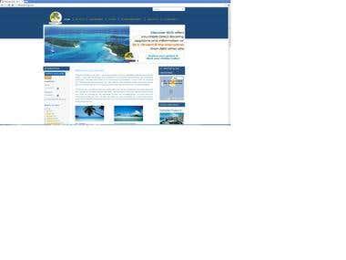 Joomla Travel Site