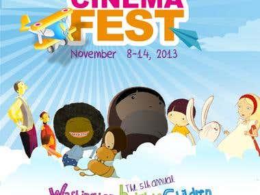 KidCinema Fest - Creative Concept