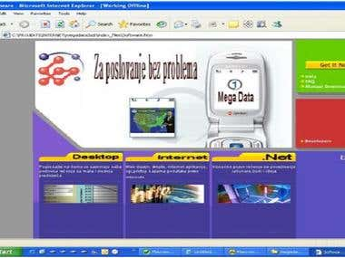 Mega Data Software Web Site