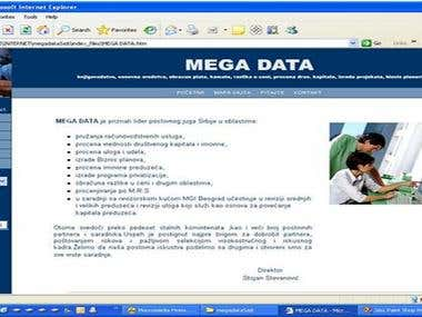 Mega Data Web Site
