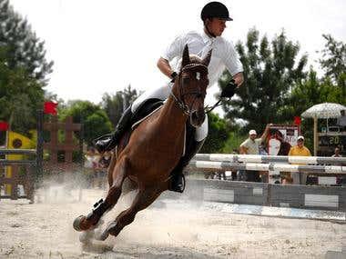 Riding Contest