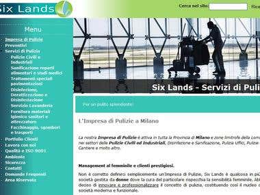 Complete SEO campaign for sixlands.com