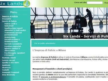 Complete SEO campaign for sixlands.com