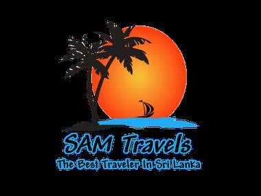 Sam Travels Logo