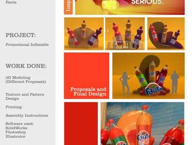 Fanta Inflatable Project