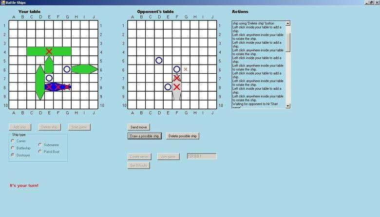 Battleship Game C Freelancer