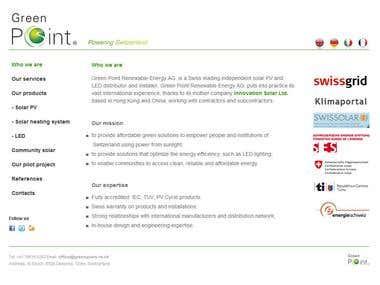 Multi-languages Greenpoint Renewables
