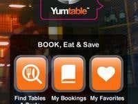 YumTable - last minute restaurant deals