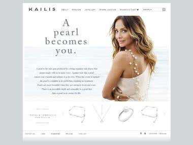 Kailis Jewellery E-Commerce