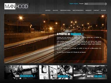 Wordpress - www.boutiquemanhood.com