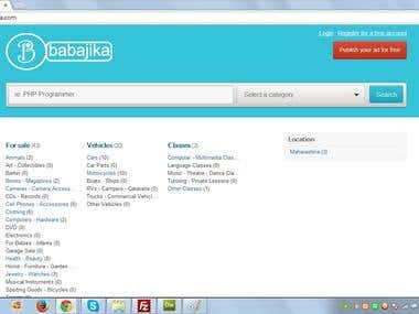 babajika.com  classified website