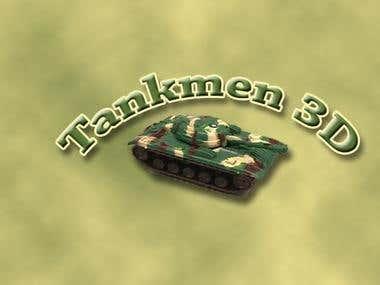 Tankmen 3D logo