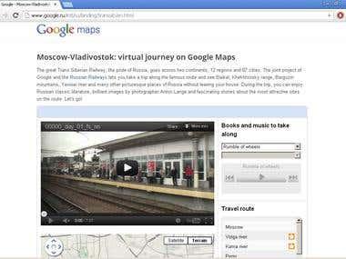 Virtual Trans Siberian Railway