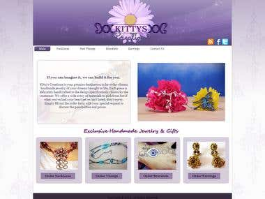 Kitty's Creations Website