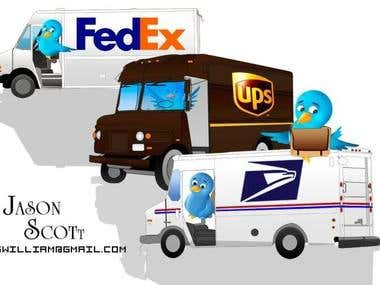 Custom Delivery Truck Designs