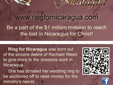 Ring For Nica Business Card