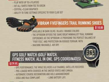 Infographic for golfgator.com