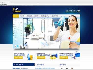 ASVCleaning.com - PSD HTML