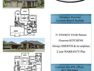 Custom Home Builder Flyer