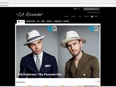 SAEcuador.com - Magento