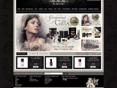MeMeMe Cosmetics E-Commerce