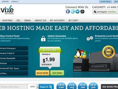 Web Hosting Wordpress Theme