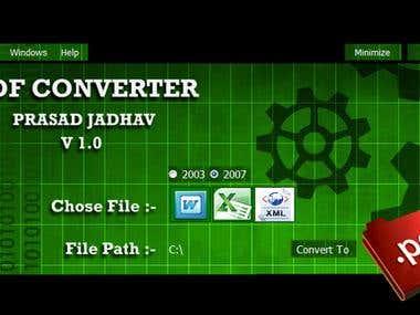.NET :  Prasad PDF Converter