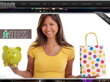iGolocally E-commerce website with Database(Inventory)