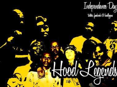Hood Legends Music Covers