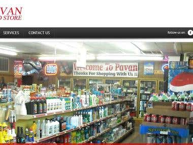 Website - Pavan Food Store