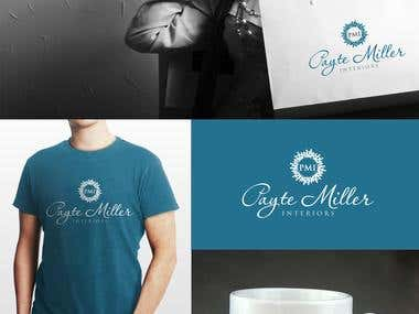 Logo design for Payte Miller Interiors