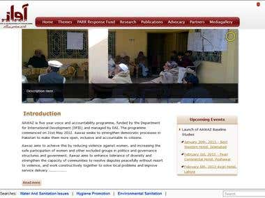 Aawaz project