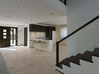 Architectural Rendering and Interior Design