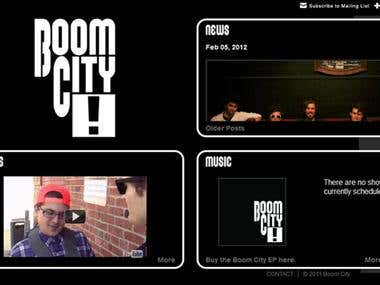 Boom City Tumblr Theme