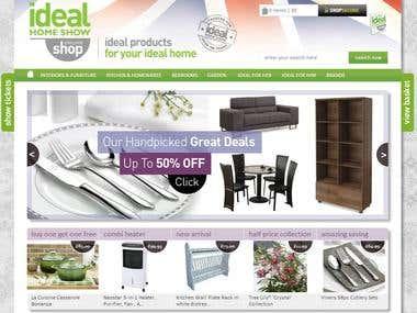 E-Commerce custom system