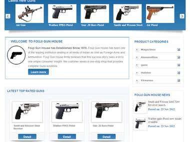 Online Gun House