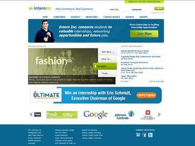 Internship Portal